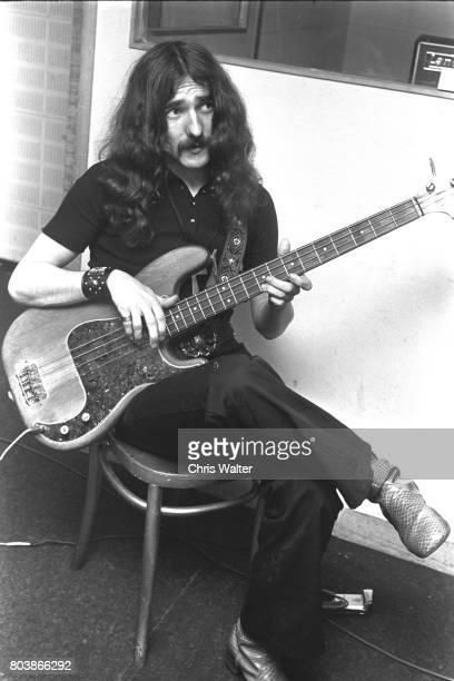Black Sabbath June 171970 Geezer Butler at Regents Sounds during Paranoid sessions