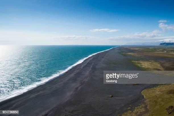 Black sand beach near Vik Iceland