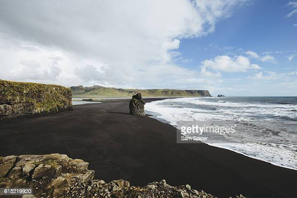 Black Sand Beach, Reynisdranga, Vik, Iceland