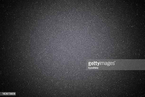 Black sand texture background with spotlight