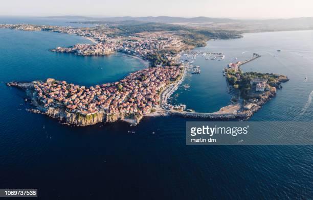 black sea coast - peninsula stock pictures, royalty-free photos & images