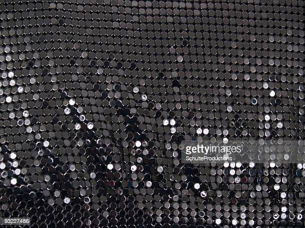 Black Sequin Background