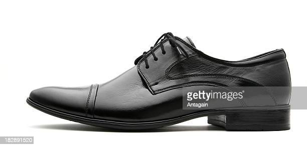 Schwarze Schuh