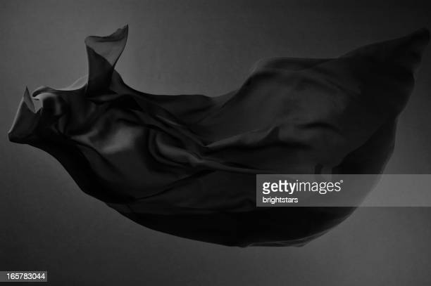 black silk - chiffon stock pictures, royalty-free photos & images