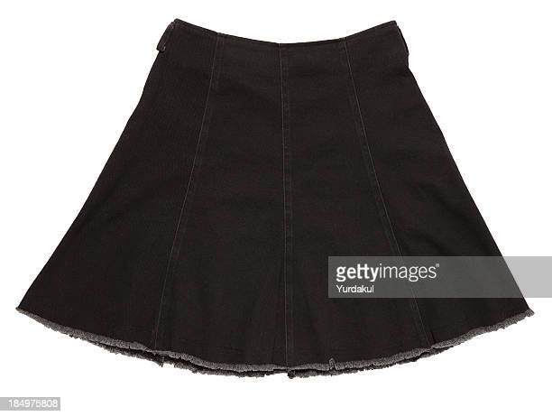 black skirt - up skirt stock photos and pictures