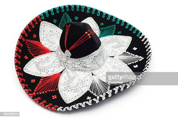 black sombrero - mariachi stock pictures, royalty-free photos & images