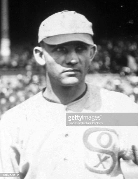 Black Sox conspirator Chick Gandil poses for a photo before a game in 1919 at Comiskey Park in Chicago Illinois