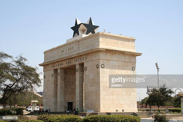 black star square - ghana stock pictures, royalty-free photos & images
