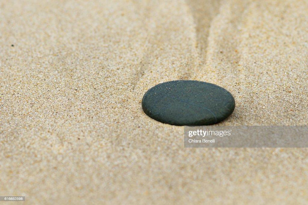 black stone : Stock Photo