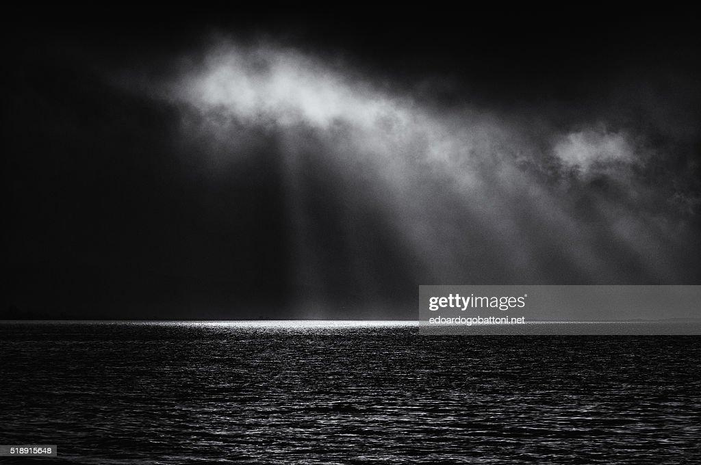 black storm : Foto stock