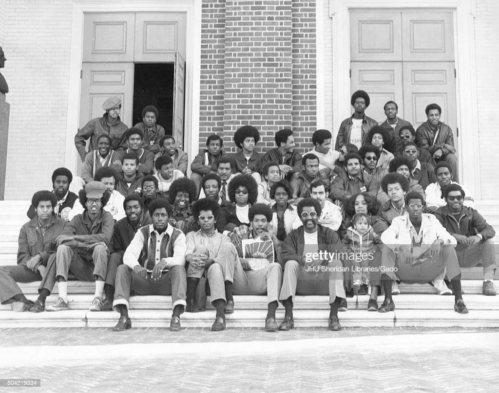 Black Student Union Group Photo : ニュース写真