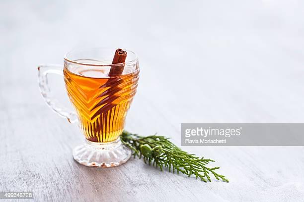 Black tea with cinnamon