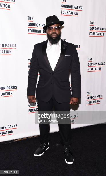 Black Thought attends the 2017 Gordon Parks Foundation Awards Gala at Cipriani 42nd Street on June 6 2017 in New York City