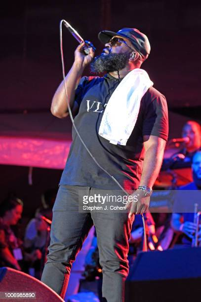 Black Thought of the group The Roots performs at Paul Brown Stadium on July 28, 2018 in Cincinnati, Ohio.
