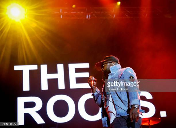 Black Thought of The Roots performs at the Lost Lake Music Festival on October 21 2017 in Phoenix Arizona