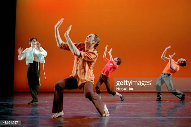 "Irene Hultman and Friends"" at Joyce Theater on Wednesday, January 24, 2001.This image:Irene Hultman, far left, and friends in ""With A Little from My..."