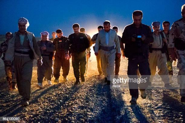 Black Tiger Camp Regional Government of KurdistanIraq Sultan Abdullah position on the 1000 kilometers long frontline on SyrianIraqi border between...