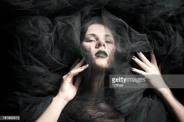 véu preto - funeral imagens e fotografias de stock