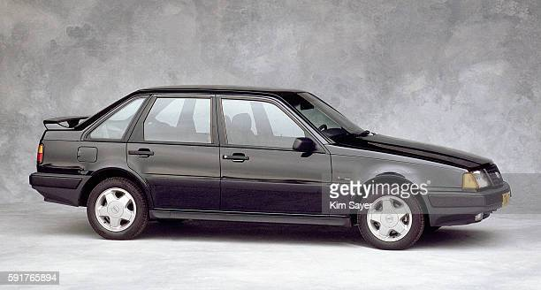 1988 black volvo car - volvo stock pictures, royalty-free photos & images