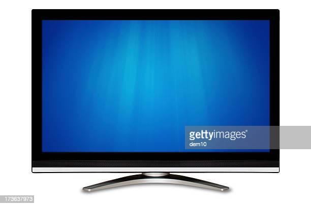 Black Breitbild-Fernseher