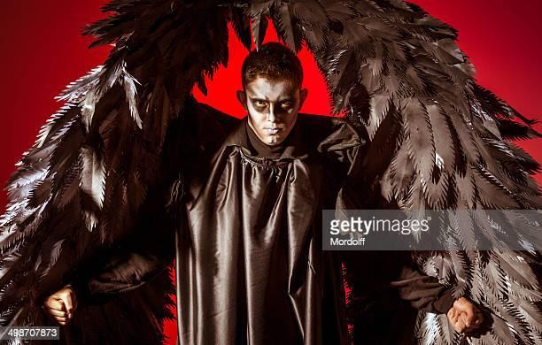 Black winged demon