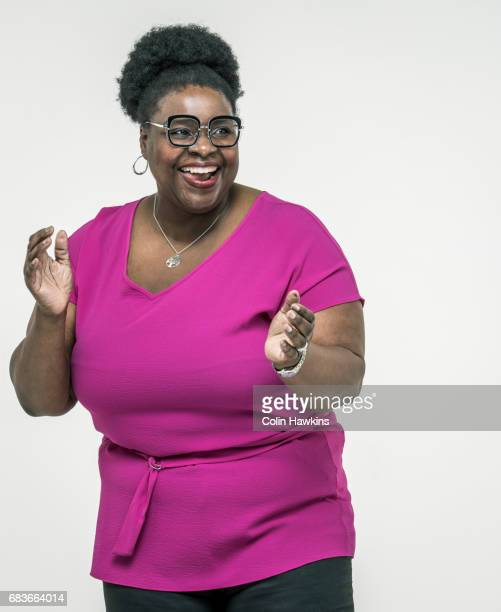 black woman clapping - clap stock pictures, royalty-free photos & images