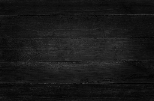 Black wooden wall background, texture of dark bark wood with old natural pattern for design art work, top view of grain timber. 901751196