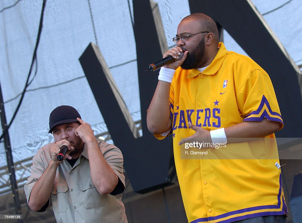 Blackalicious at the City Park in New Orleans, Louisiana