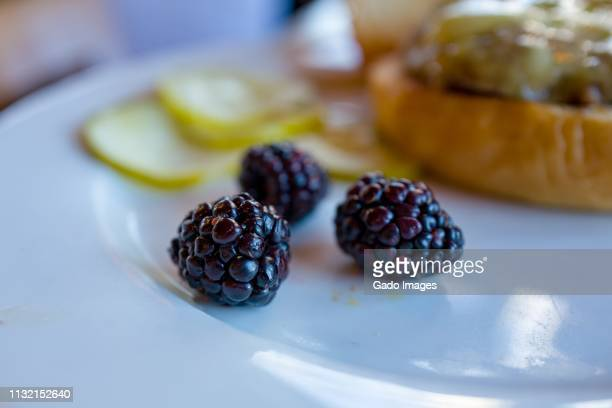 blackberries - gado stock photos and pictures