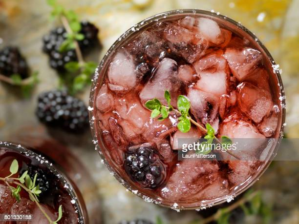 Blackberry and Thyme cocktail