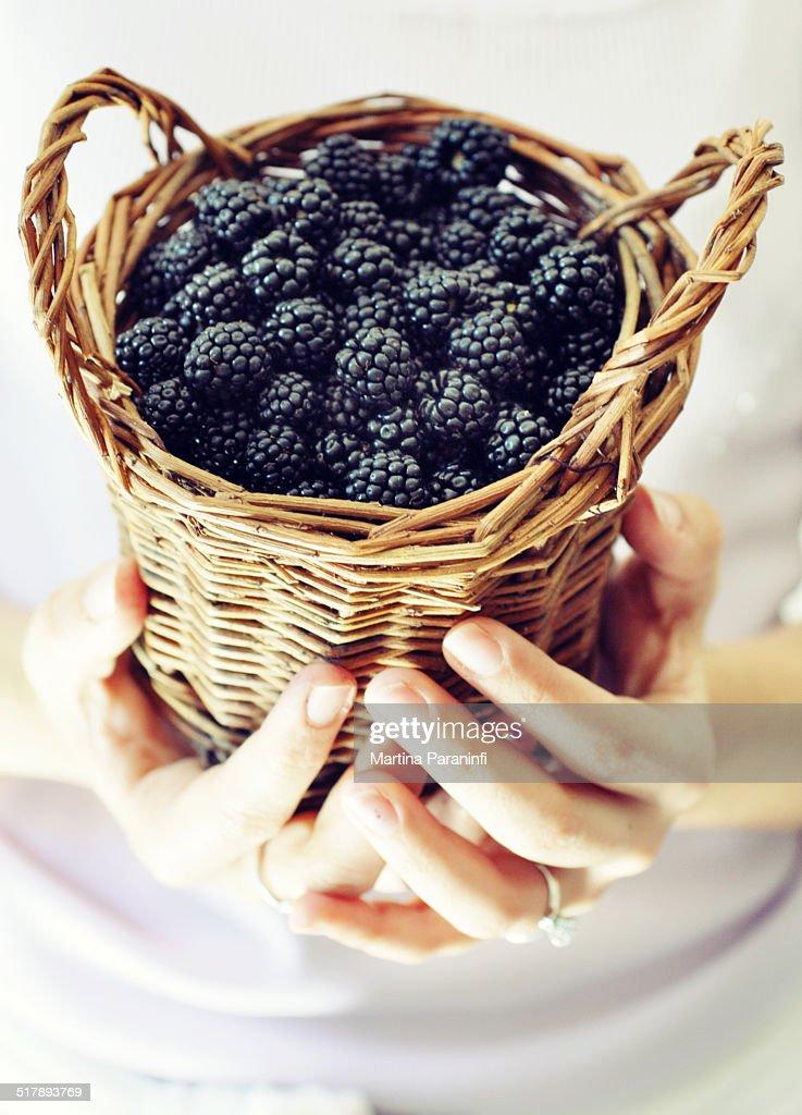 meilleure sélection 30dd9 acc87 Blackberry Basket Stock Photo | Getty Images