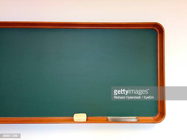 Blackboard Against White Background