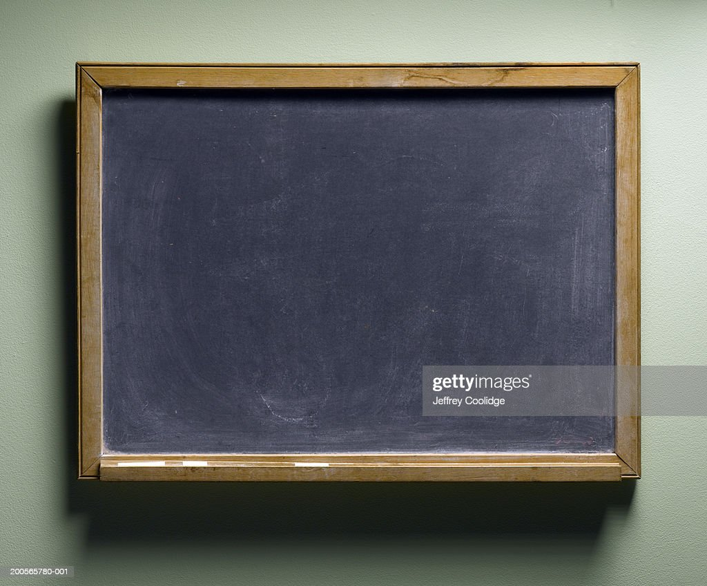 Blackboard, close-up : Photo