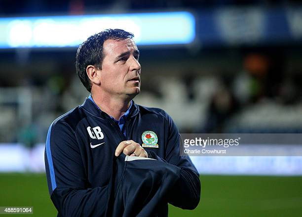 Blackburn manager Gary Bowyer during the Sky Bet Championship match between Queens Park Rangers and Blackburn Rangers at Loftus Road on September 16...