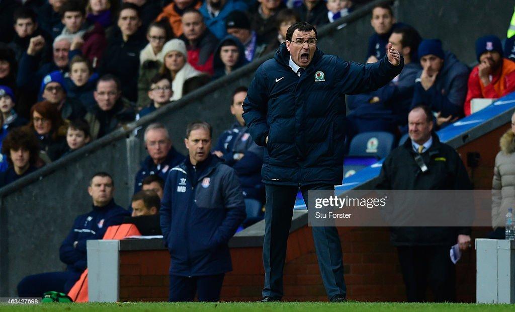 Blackburn Rovers v Stoke City - FA Cup Fifth Round : News Photo