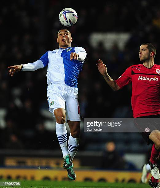 Blackburn player Josh King in action during the npower Championship match between Blackburn Rovers and Cardiff City at Ewood park on December 7, 2012...