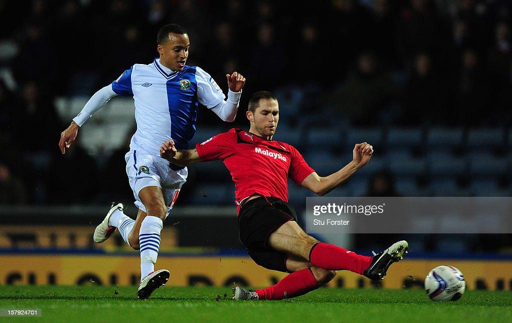Blackburn Rovers v Cardiff City - npower Championship : News Photo