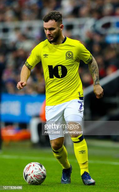 Blackburn Rovers' Adam Armstrong during the FA Cup Third Round match between Newcastle United and Blackburn Rovers at St James Park on January 5 2019...
