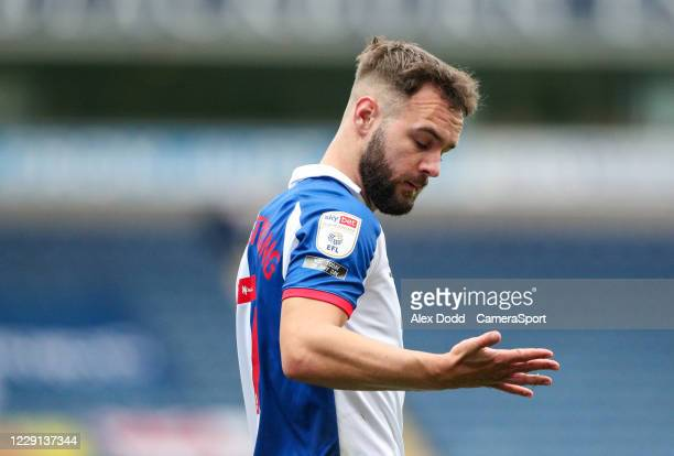 Blackburn Rovers' Adam Armstrong during the Sky Bet Championship match between Blackburn Rovers and Nottingham Forest at Ewood Park on October 17...