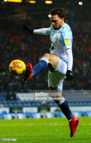 Blackburn Rovers' Bradley Dack during the Sky Bet Championship match between Blackburn Rovers and Birmingham City at Ewood Park on December 15 2018...
