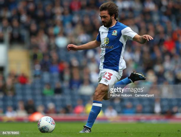 Blackburn Rovers' Bradley Dack during the Sky Bet League One match between Blackburn Rovers and AFC Wimbledon at Ewood Park on September 16 2017 in...