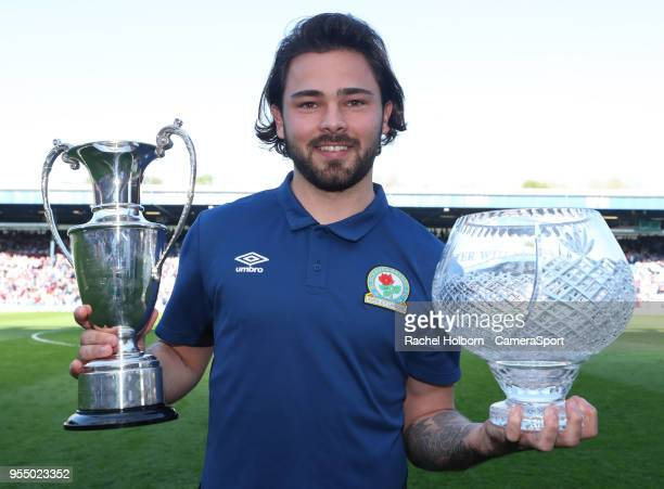 Blackburn Rovers' Bradley Dack during the Sky Bet League One match between Blackburn Rovers and Oxford United at Ewood Park on May 5 2018 in...