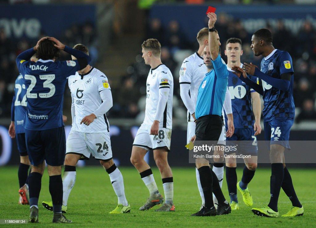 Swansea City v Blackburn Rovers - Sky Bet Championship : News Photo