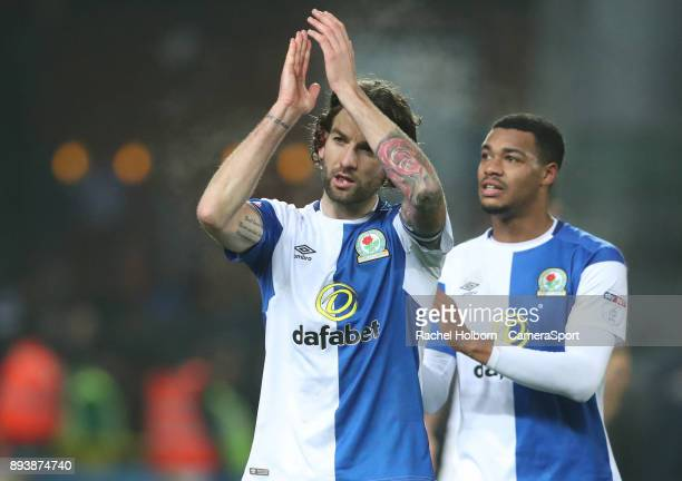 Blackburn Rovers' Charlie Mulgrew at the end of the game during the Sky Bet League One match between Blackburn Rovers and Charlton Athletic at Ewood...