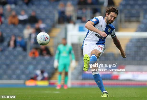 Blackburn Rovers' Charlie Mulgrew during the Sky Bet League One match between Blackburn Rovers and AFC Wimbledon at Ewood Park on September 16 2017...