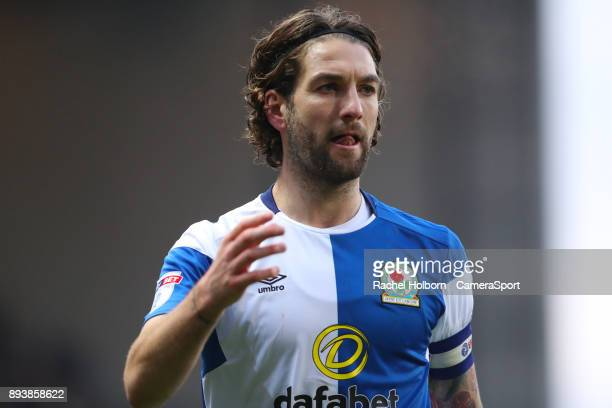 Blackburn Rovers' Charlie Mulgrew during the Sky Bet League One match between Blackburn Rovers and Charlton Athletic at Ewood Park on December 16...