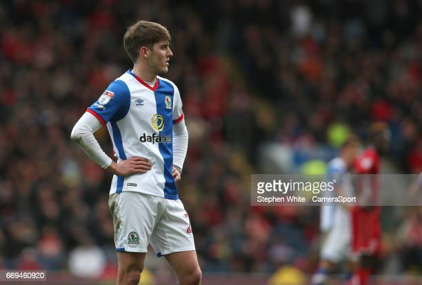 Blackburn Rovers' Connor Mahoney during the Sky Bet Championship match between Blackburn Rovers and Bristol City at Ewood Park on April 17 2017 in...