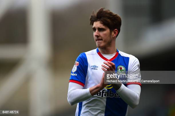 Blackburn Rovers' Connor Mahoney looks on during the Sky Bet Championship match between Blackburn Rovers and Wigan Athletic at Ewood Park on March 4...