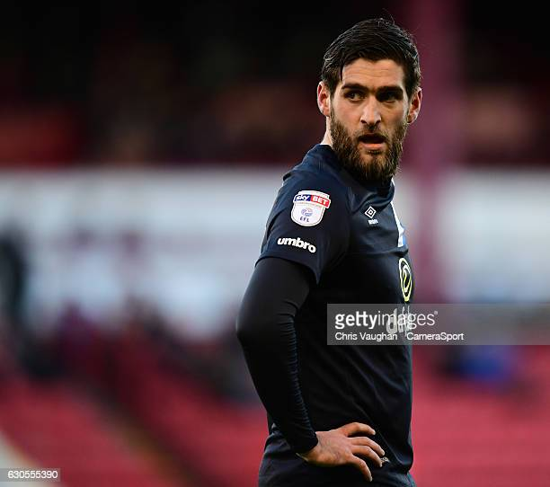 Blackburn Rovers' Danny Graham during the Sky Bet Championship match between Barnsley and Blackburn Rovers at Oakwell Stadium on December 26 2016 in...