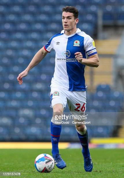 Blackburn Rovers' Darragh Lenihan during the Sky Bet Championship match between Blackburn Rovers and Nottingham Forest at Ewood Park on October 17...